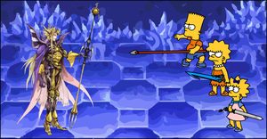 Simpsons vs Emperor Mateus by Gazmanafc