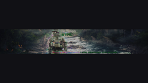 Glitch Style YT Banner ( *Not Finished Yet *) by ItsSync