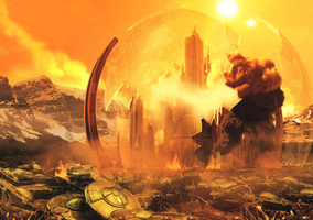 Wallpaper: Gallifrey at War by U-No-Poo