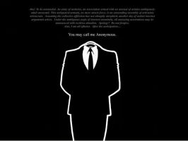 I am Anonymous by t3htr0n