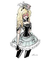 Steampunk Alice Costume Idea 2012 by NoFlutter