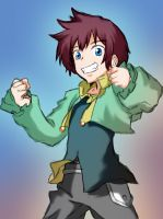Asbel Lhant by optimisticjohnny