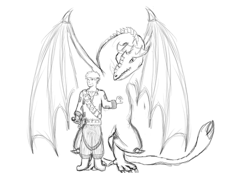 The Alchemist And The Dragon by PatrickHansberry