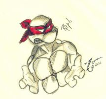 Original Raphael.:Cover:. by DeLunne2011
