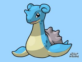 Lapras by WhiteOrchid14