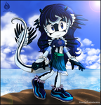 Anemone the Blue Angel by Venetia-TH