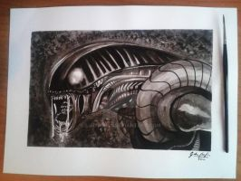 My Tribute to Giger by Luthien90