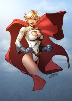 Power Girl by Yleniadn86