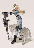Sniper Wolf by Pikila