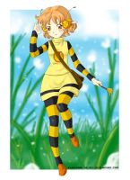 5 USD COMMISSION: COMBEE by PEQUEDARK-VELVET