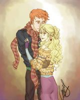 George and Luna by AniPokie