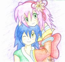 Sonic and Amy :D by TempestMoonXx