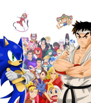 Sega VS Capcom by ss2sonic