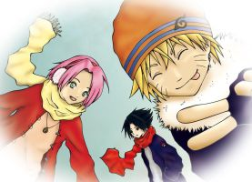Team 7, winter time by Gabrielle-Erina