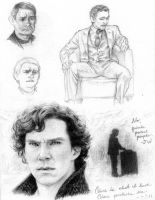 Sherlock, John, and a dash of Hiddles by AlexandriaMonik