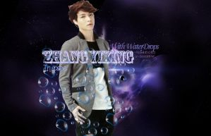[WALLPAPER] Zhang Yixing (Read: LAY) in Space by ArdeliaExotics