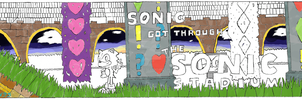 Sonic in The Sonic Stadium - 1st Color Preview by Yeow95