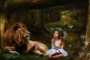 The lion and me by annemaria48