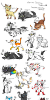 cat adoptables closed by TheSkimpyMinion