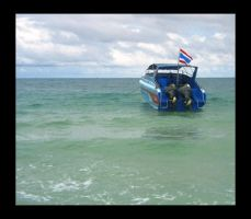 thai boat by CouldntCareless