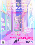 Tsukino con poster by BOMHAT