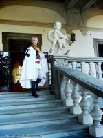 APH Holy Roman Empire cosplay by SakurahimeArt