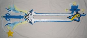 Oathkeeper Keyblade by RedShotRonin