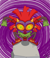 Skull Kid by mexican64