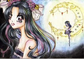 Reupload: Princess of the night by xBlackHoney