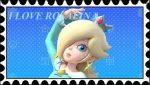 I love Rosalina Stamp by PhantomMasterRamos89