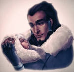 Father and Daughter by RizCifra