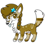 Wolf Adopt .:AUCTION:. by RoseyWingedCat