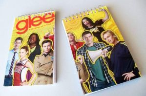 Glee Notepad Set by WildeMoon