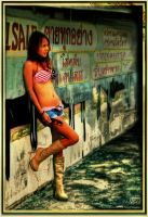 Model in Graffiti Thailand by Drchristophers