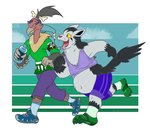 [Commish] Can't Help Jogging In Love by kompy