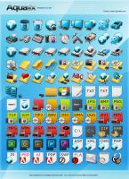 Aqualix Icon Set by lindexter
