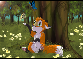 [COM] Little Cutefox by RukiFox