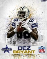Dez Bryant [Colored] by daWIIZ