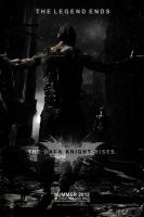 The Dark Knight Rises Movie Poster by ToHeavenOrHell