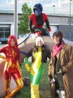 X-Men Small Group by StraylightRevelation