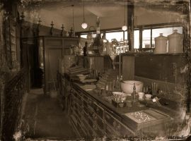 The Old Chemist Shop by Estruda