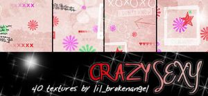 Textures - Crazy Sexy by lilbrokenangel