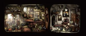 Mysterious Antique Shop by LightBlackStudios