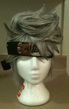 Kakashi Wig Commission by whit-whit