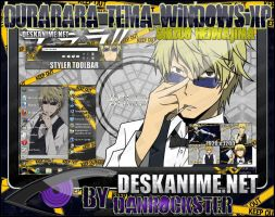 Shizuo Heiwajima Theme Windows XP by Danrockster