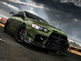 Lancer Evolution X L.E by mateus12345