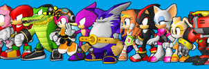 15 Sonic Heroes by earthbouds