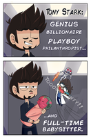 AsktheScienceBros- Babysitting by ecokitty