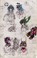 MMZ5 concepts by henya66
