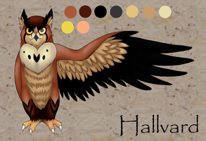 Hallvard Mini Ref by ThatWildMary